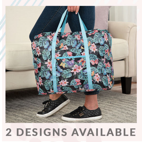 Tropical Beauty Packable Duffel Bag - 2 Designs Available