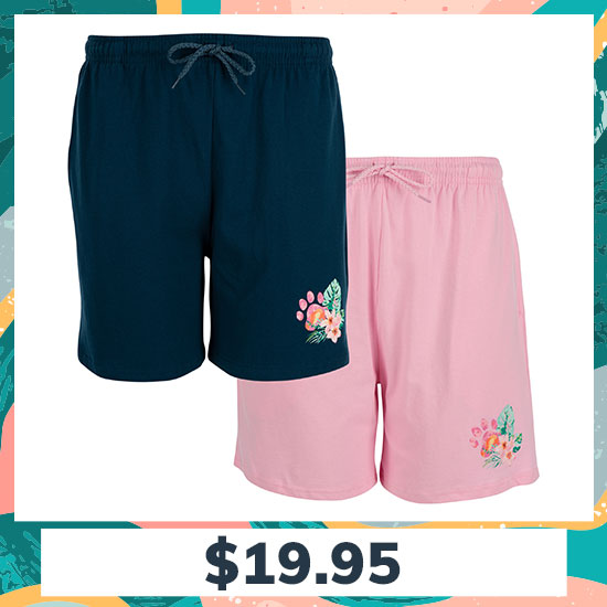 Pawsitively Adorable Tropical Casual Shorts - $19.95