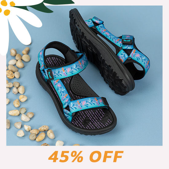 Fluttering Friends River Sandals - 45% OFF