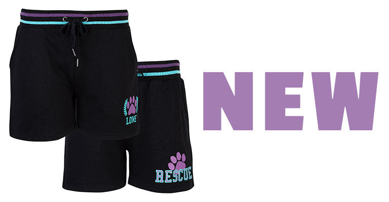 Rescue & Love Striped Waistband Shorts | New