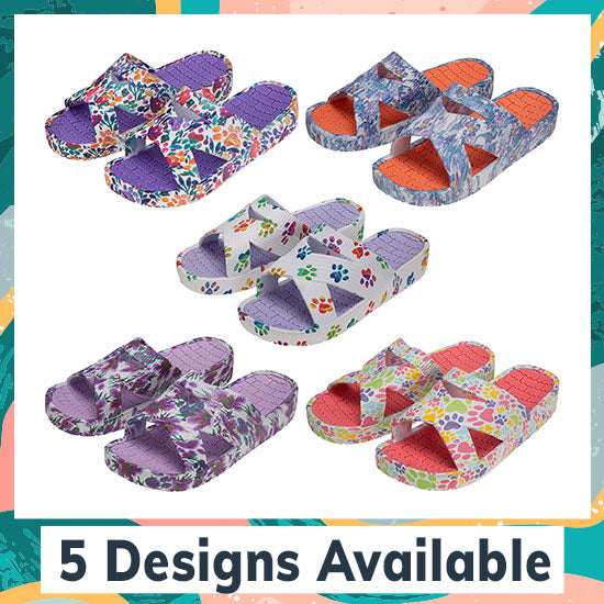 Celebration Paws Criss-Cross Sandals - 5 Designs Available
