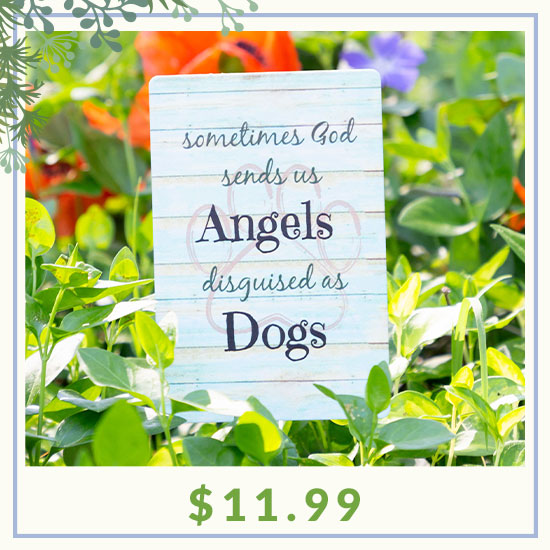 Angels in Disguise Garden Stake - $11.99