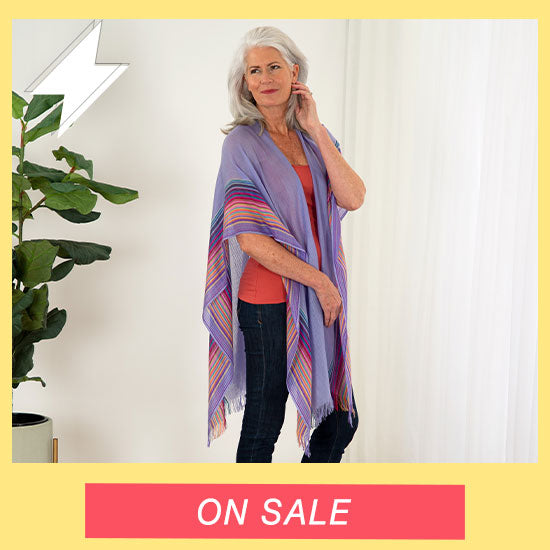 Handwoven Kimono Cover-Up - On Sale