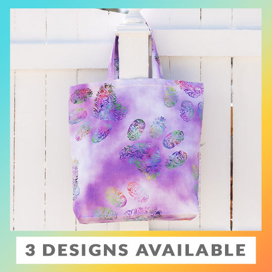 Paw Print Tote Bag - 3 Designs Available