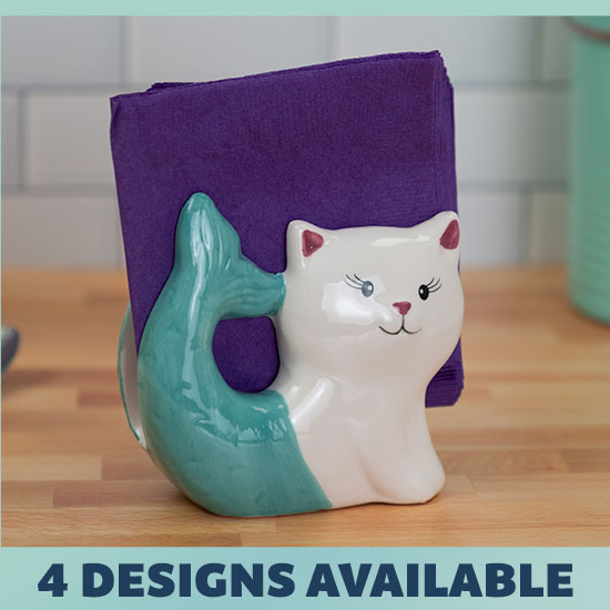 Cute Critter Napkin Holder - 4 Designs Available