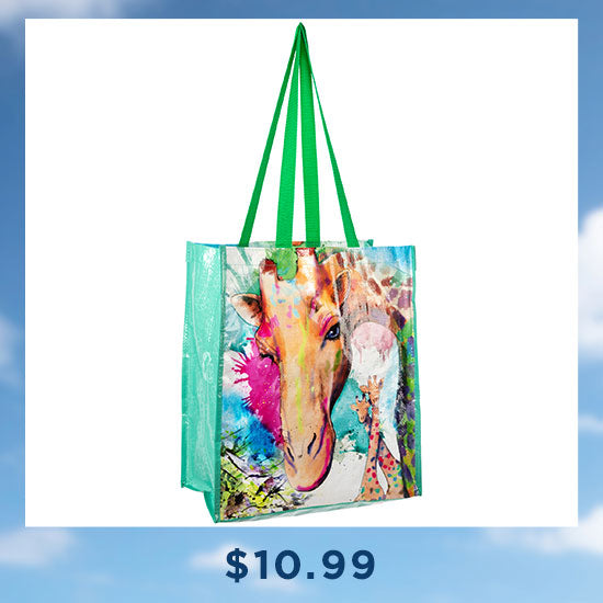 Wildlife Recycled Tote Bag - $10.99