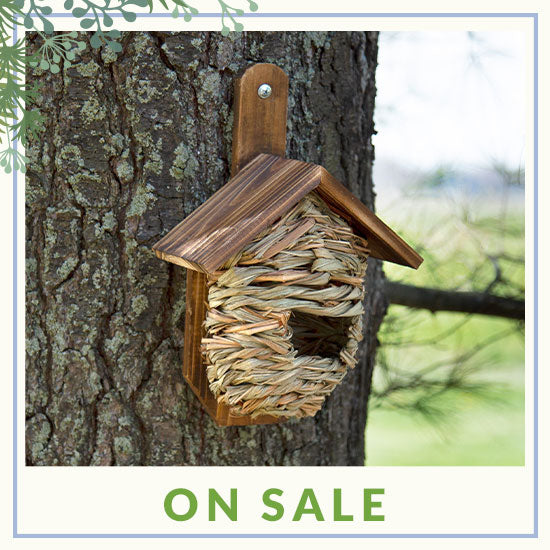 Mounted Roosting Birdhouse with Roof - On Sale