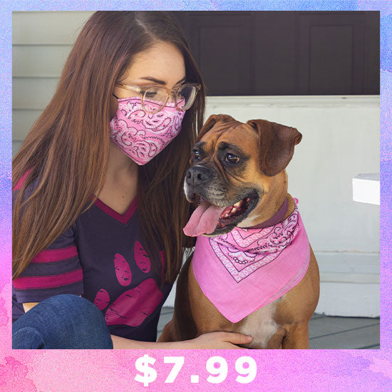 Pop of Color Classic Bandana - $7.99