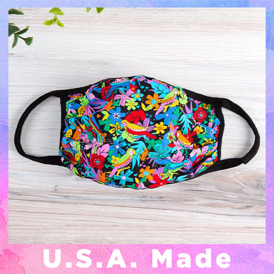Vibrant Cloth Face Mask - Made in USA