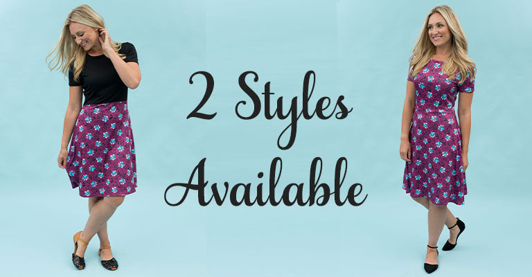 Paw Print Dress | Two Styles Available