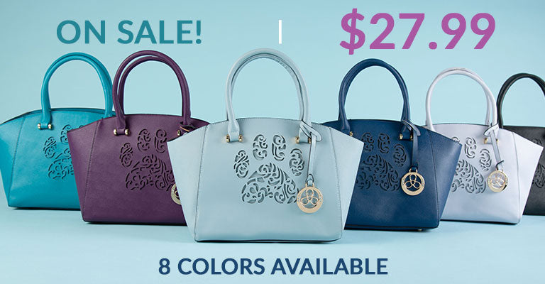 Pawsitively Beautiful Handbag | On Sale! | $27.99 | 8 Colors Available