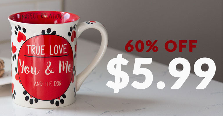 The Pawfect Relationship Mug | 60% OFF | $5.99