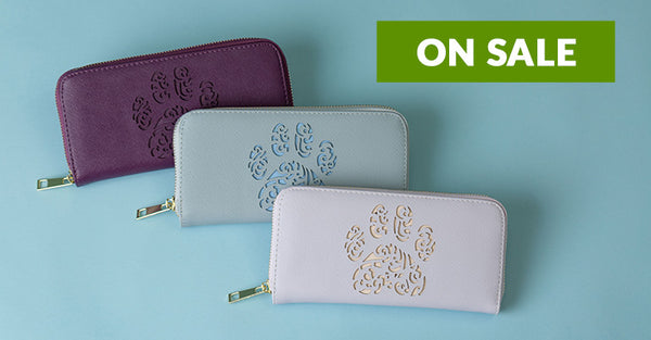 Pawsitively Beautiful Zipper Wallet