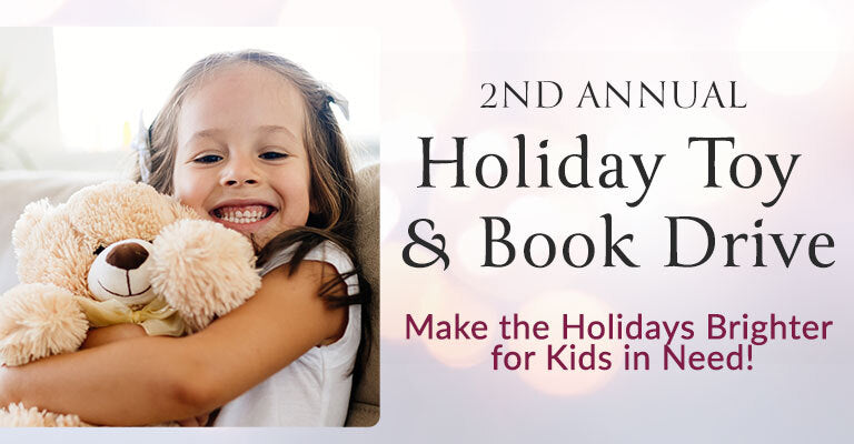 2nd Annual Holiday Toy & Book Drive | Make the Holidays Brighter for Kids in Need!