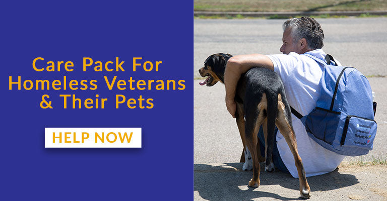 Care Pack For Homeless Veterans & Their Pets | Help Now