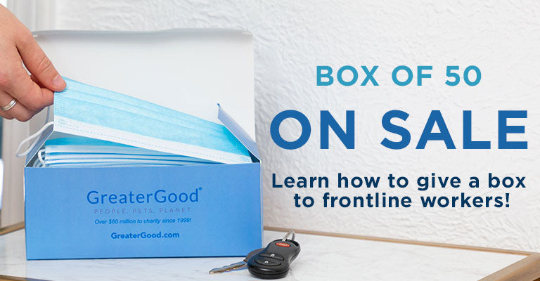 Box of 50 | On Sale | Learn how to give a box to frontline workers!