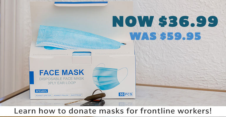 Was $59.95 | Now $39.99 | Learn how to donate masks for frontline workers!