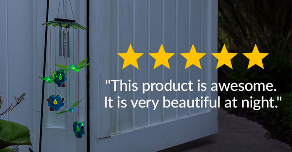 """This product is awesome. It is very beautiful at night."""
