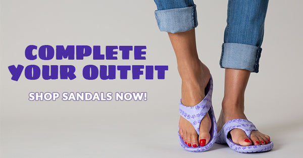 Complete your Outfit! Shop our footwear