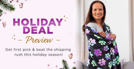 Holiday Deals Preview | Shop early & get it in time for the holidays!