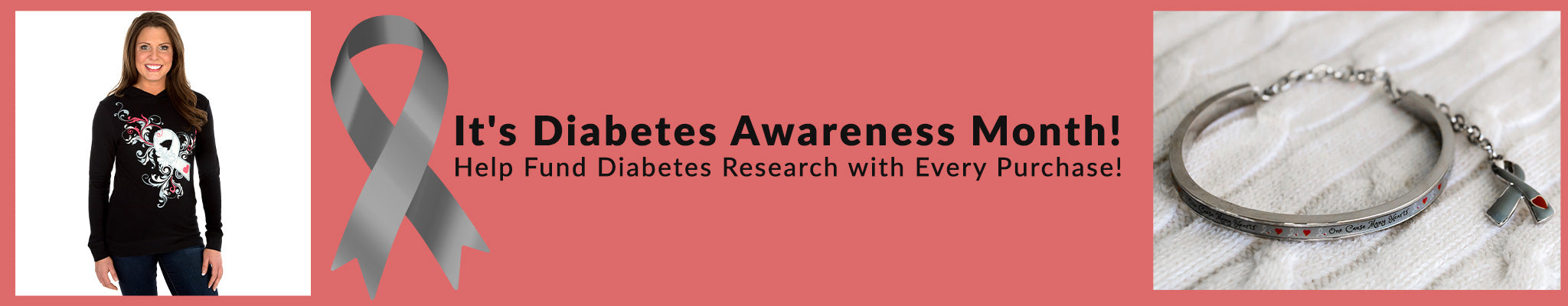 It's Diabetes Awareness Month! | Help Fund Diabetes Research with Every Purchase!
