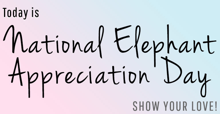 Today is National Elephant Appreciation Day | Show your Love!