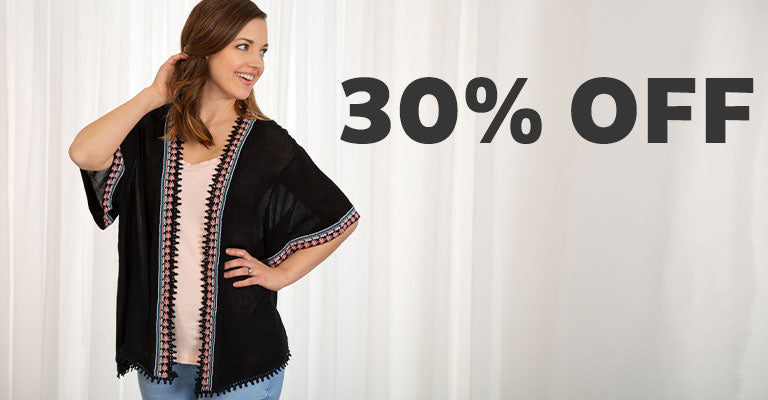 Midnight Muse Open-Front Cardigan | 30% OFF