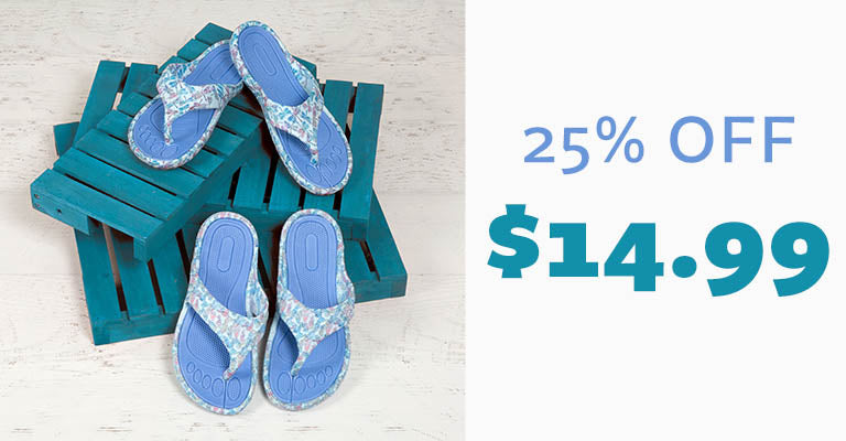 Taking Flight Flip Flops | $14.99 | 25% OFF