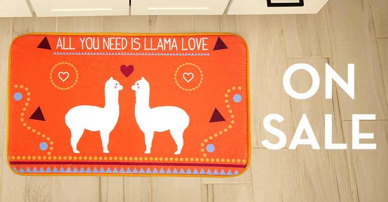 Llama Love Memory Foam Indoor Mat | On Sale!