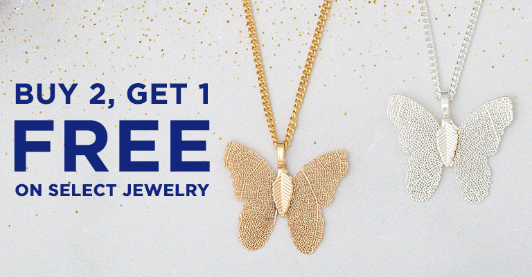 Buy 2, Get 1 FREE on Select Jewelry