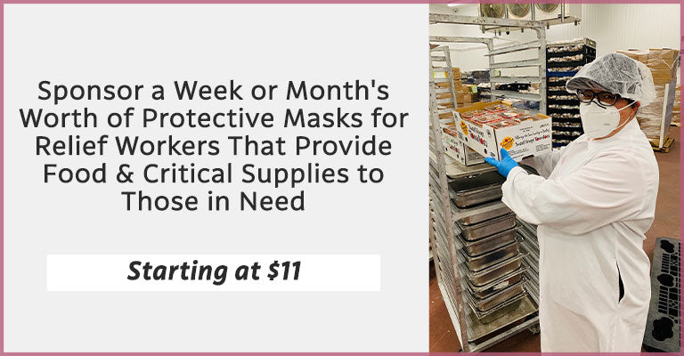 Sponsor a Week or Month's Worth of Protective Masks for Nursing Home & Health Care Workers | Starting at $11