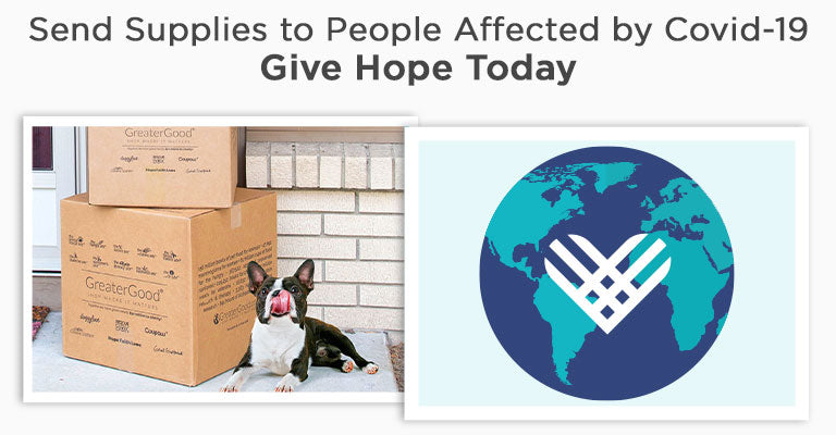 Send Supplies to People Affected by Covid-19 | Give Hope Today