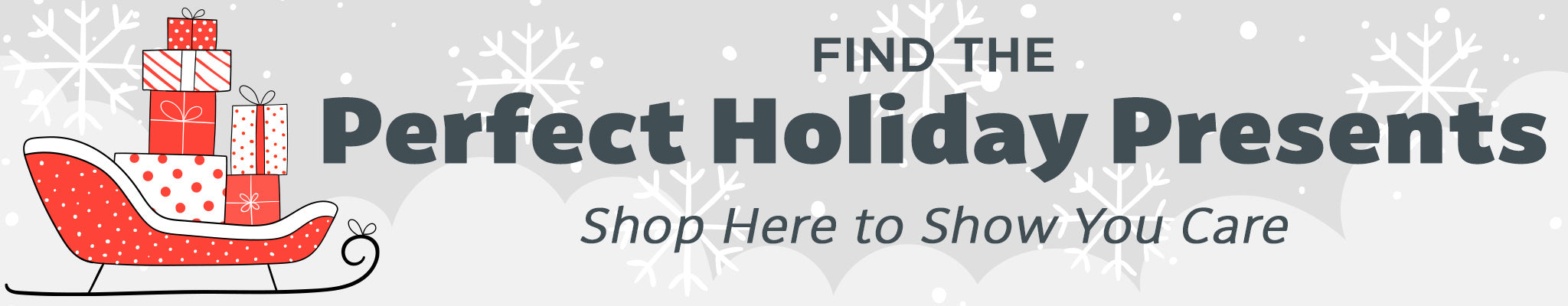 Find the Perfect Holiday Presents | Shop Here to Show You Care