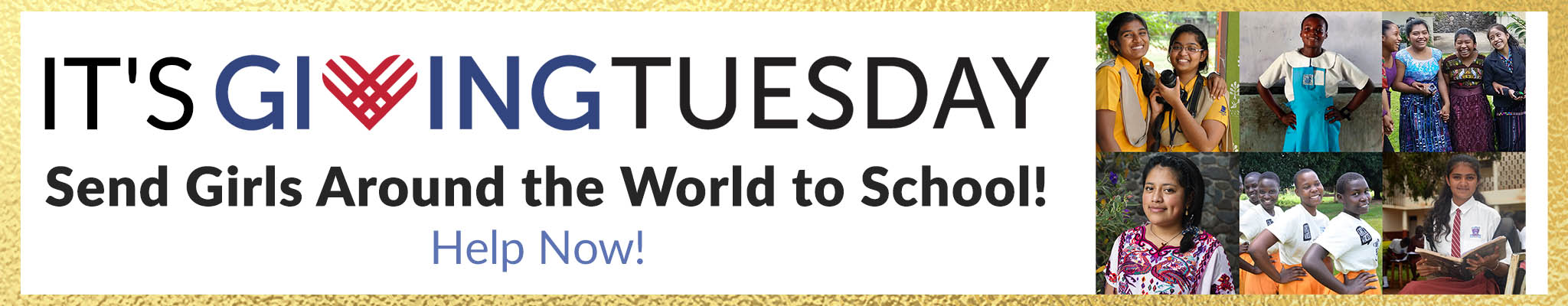 It's Giving Tuesday! Send Girls Around the World to School! Help Now