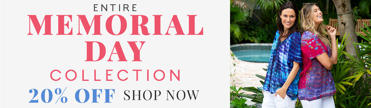 Shop our Memorial Day Collection