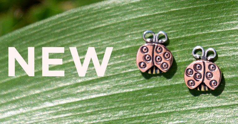 Sweet Ladybug Post Earrings | New