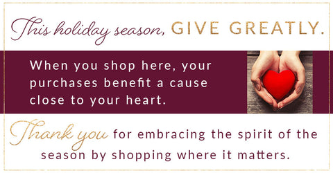 Shop with us and give greatly!