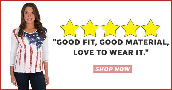 """Good fit, good material, love to wear it."" 