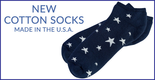 New Cotton Socks | Made in the USA