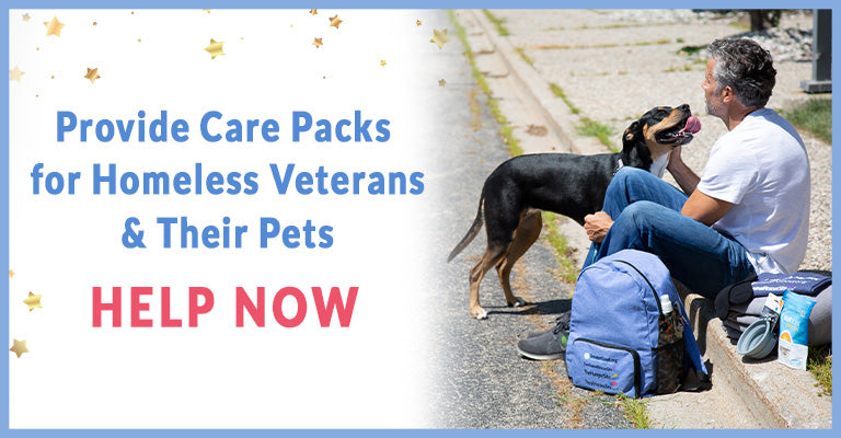 Provide Care Packs for Homeless Veterans & Their Pets | Help Now
