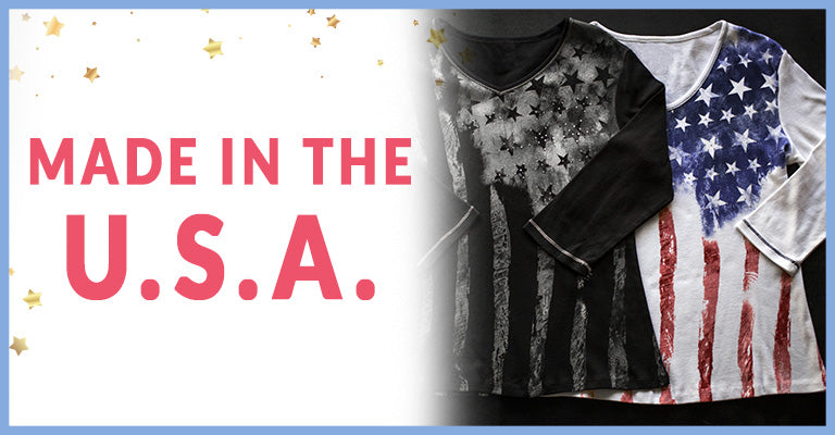 Old Glory Baby Rib Top | Made in the U.S.A.