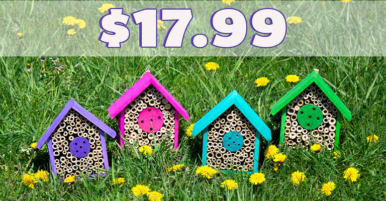 Wooden Bee House | $17.99