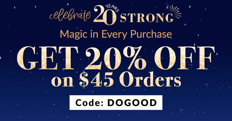 20% Off $45 Orders | DOGOOD