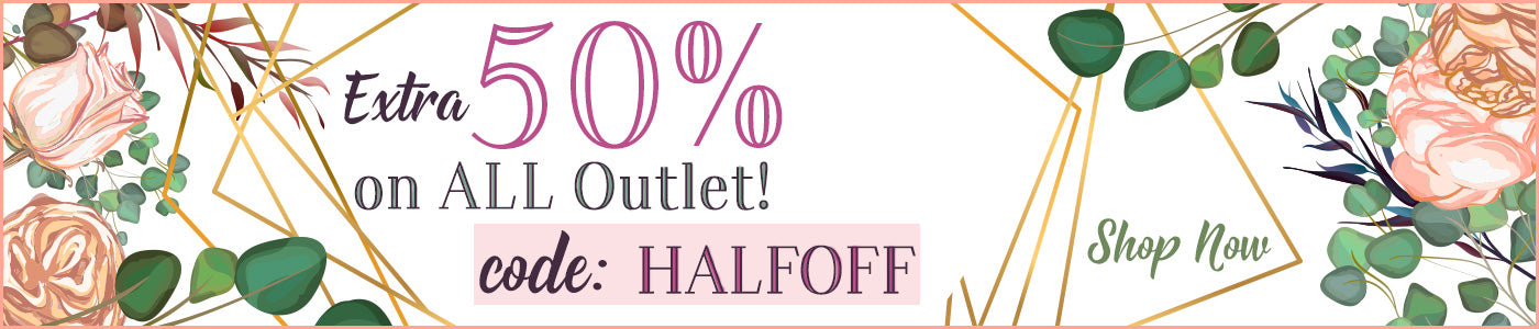 Get 50% Off the Outlet Collection