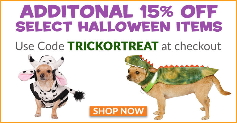 Additonal 15% OFF Select Halloween Items | Use Code TRICKORTREAT at checkout