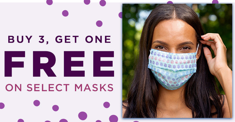 Buy 3, Get 1 FREE on Select Masks