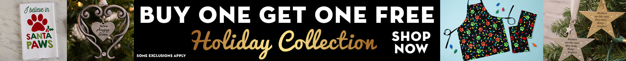 Buy 1, Get 1 Free On Our Holiday Collection