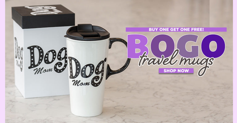 Buy One, Get One FREE on Select Travel Mugs