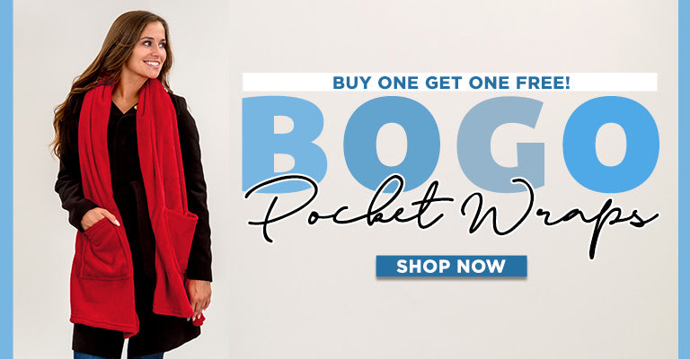 Buy One, Get One FREE | Pocket Wraps