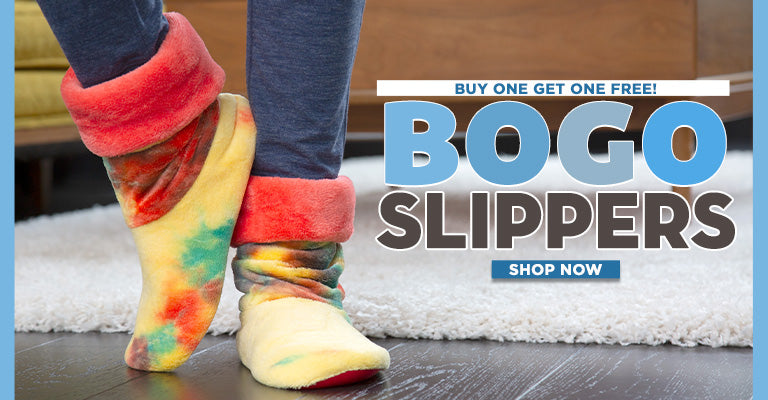 Buy 1, Get 1 FREE Slipper Booties